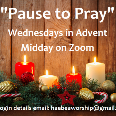 Advent Pause to Pray