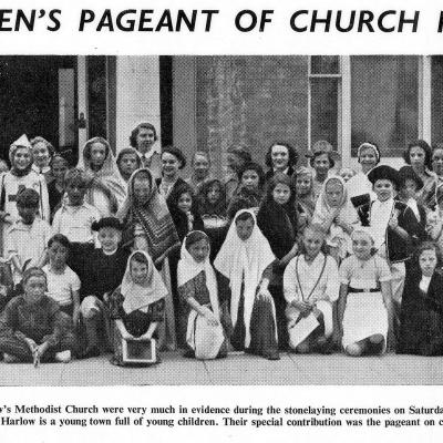 Childrens Pageant - 27 June 1953 - Web