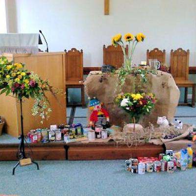 Epping URC - Harvest Display