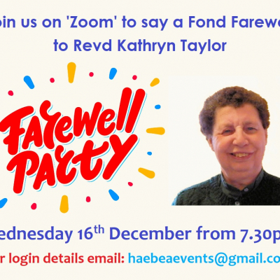Farewell for Kathryn