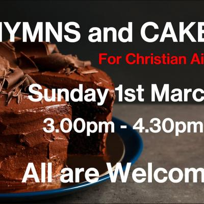 Hertford Hymns and Cake