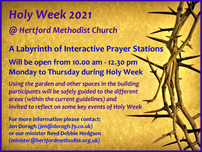 Hertford Prayer Labyrinth - Web