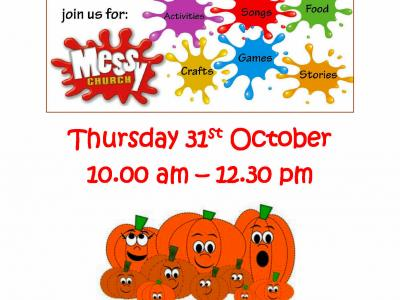 October 2019 - Messy Church A4 2