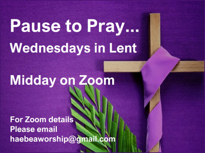 Pause to Pray - Lent