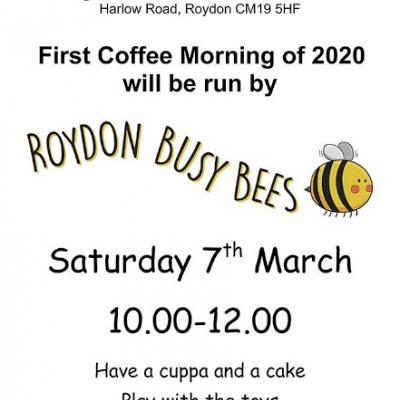 Roydon Coffee AM - 7 March