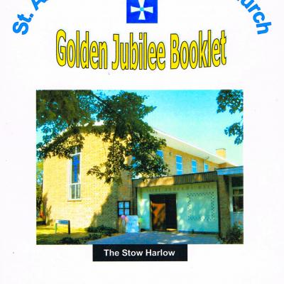 St Andrew's Golden Jubilee Booklet Front Cover