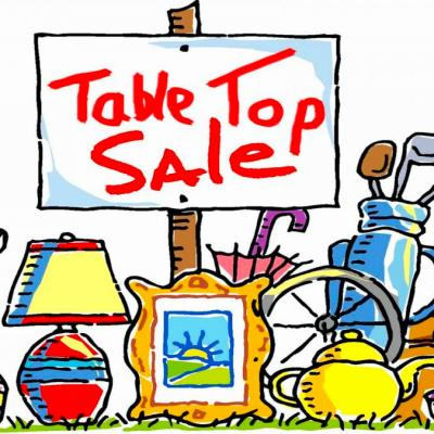 Table Top Sale