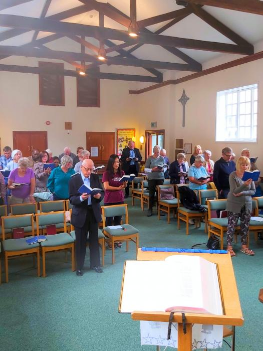 United worship at Epping URC - Sept 2019