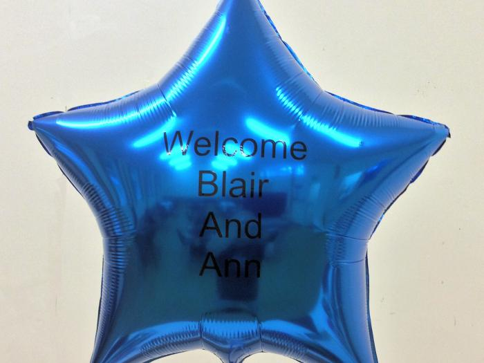 Welcome Balloons